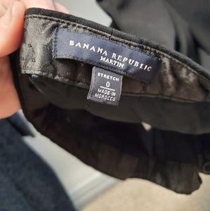 Banana Republic double layer pants size 0 peti